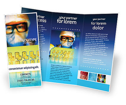 Technology development brochure template design and layout for Technology brochure templates