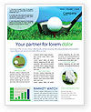 Golf Newsletter Template #01768 - small preview