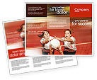 Volleyball Brochure Template #01862 - small preview