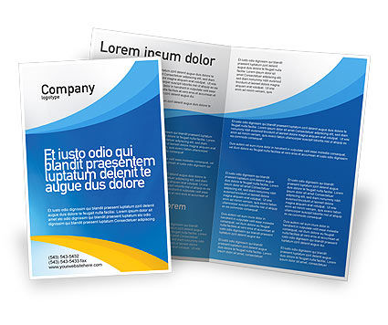 brochure design course - obstacle course brochure template design and layout