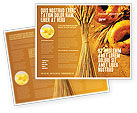 Agriculture and Animals: Baking Brochure Template #02379