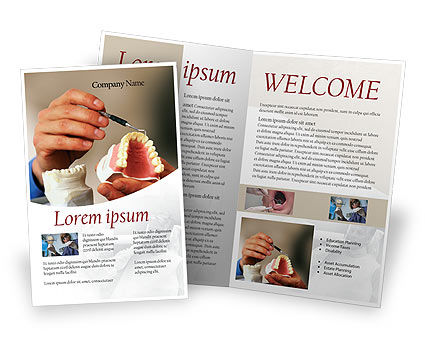Denture Brochure Template
