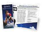 Social+media: Father Day Brochure Template #02413