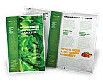 Agriculture and Animals: Lettuce Brochure Template #02484