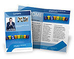 Business Strategy Education Brochure Template