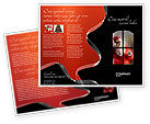 Santa Clause Coming Brochure Template #02845 - small preview