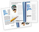 Social+media: Educational And Psychological Test Brochure Template #02870