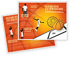 Sports: Basketball Brochure Template #02904
