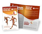 Muscular System Brochure Template #02911 - small preview