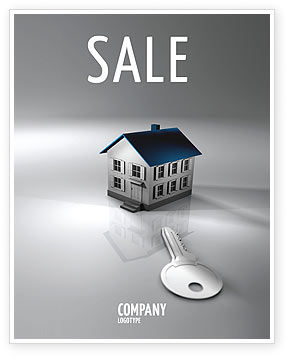 Real Estate Property Sale Poster Template In Microsoft