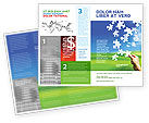 Business Concepts: Picture of the World Brochure Template #02986