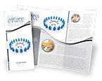 Business Concepts: Circle Brochure Template #02994