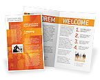 City+wide+church+revival: Wide World Business Brochure Template #03159