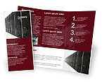 Technology, Science & Computers: Server Room Brochure Template #03161
