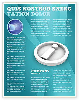 Information flyer template background in microsoft word for Informative poster template