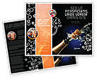 Holiday/Special Occasion: Champagne Brochure Template #03246