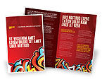 Art & Entertainment: Graffiti Brochure Template #03484
