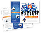 Business Workers Brochure Template