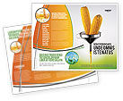 Corn Oil Brochure Template