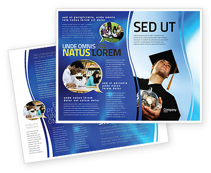 education brochure template - paid education brochure template design and layout