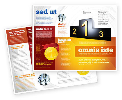 One sided brochure brochure templates design and layouts for One sided brochure template