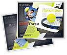 Sports: Tennis Ball Brochure Template #03918