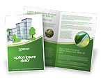 Construction: Green District Brochure Template #04147
