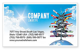 Travels visiting card design templates travels visiting card design templates travel directions business card template layout download cheaphphosting Gallery