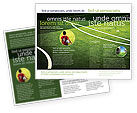 Sports: Football Duel Brochure Template #04410
