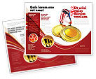 Sports: Medal Brochure Template #04414