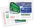 Consulting: Losers and Winners Brochure Template #04530