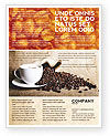 Coffee Break With Cappuccino Flyer Template #04820 - small preview