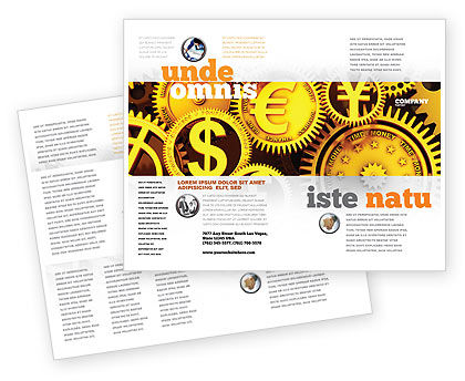 financial brochure templates - finance brochure template design and layout download now