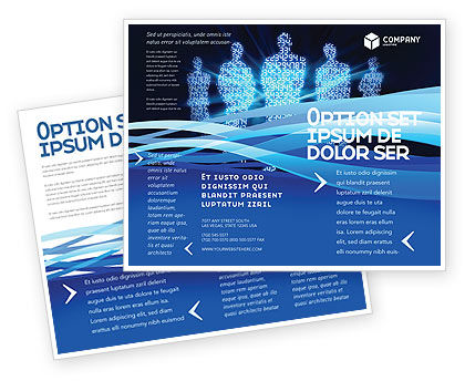 Information Technology Brochure .  Information Pamphlet Template