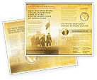American Civil War Brochure Template