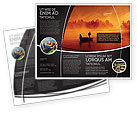 Nature & Environment: Recreational Fishing Brochure Template #05122