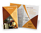 Hotel Restaurant Brochure Template #05392 - small preview