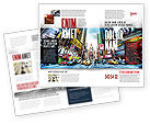 Times Square Brochure Template