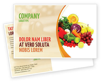 Postcard Samples by Industry