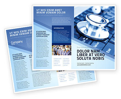 Digital Brochure Templates Images Nice Blue Digital Brochure