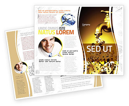 aids brochure template - dollar aid brochure template design and layout download