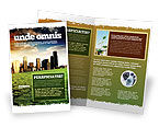Nature & Environment: Bad Ecology City Brochure Template #06687