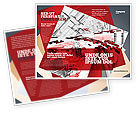 City+wide+church+revival: Abstract City Collapse Brochure Template #06774