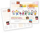 Funny Kids Brochure Template