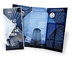 City+wide+church+revival: Business Center In Downtown Brochure Template #07208