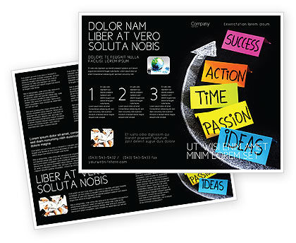 From ideas to success brochure template design and layout for Successful brochure design
