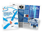 Telecommunication: Group Connections Brochure Template #07447