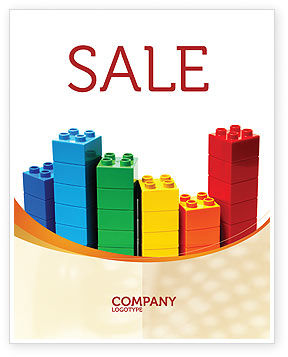 Lego World Sale Poster Template In Microsoft Word