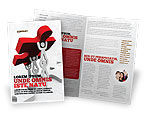 Consulting: Jigsaw Lifting Brochure Template #08200
