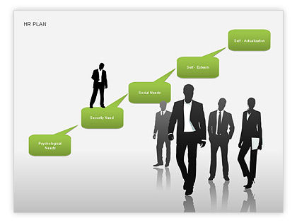 Human Resources Plan Diagrams For Powerpoint Presentations